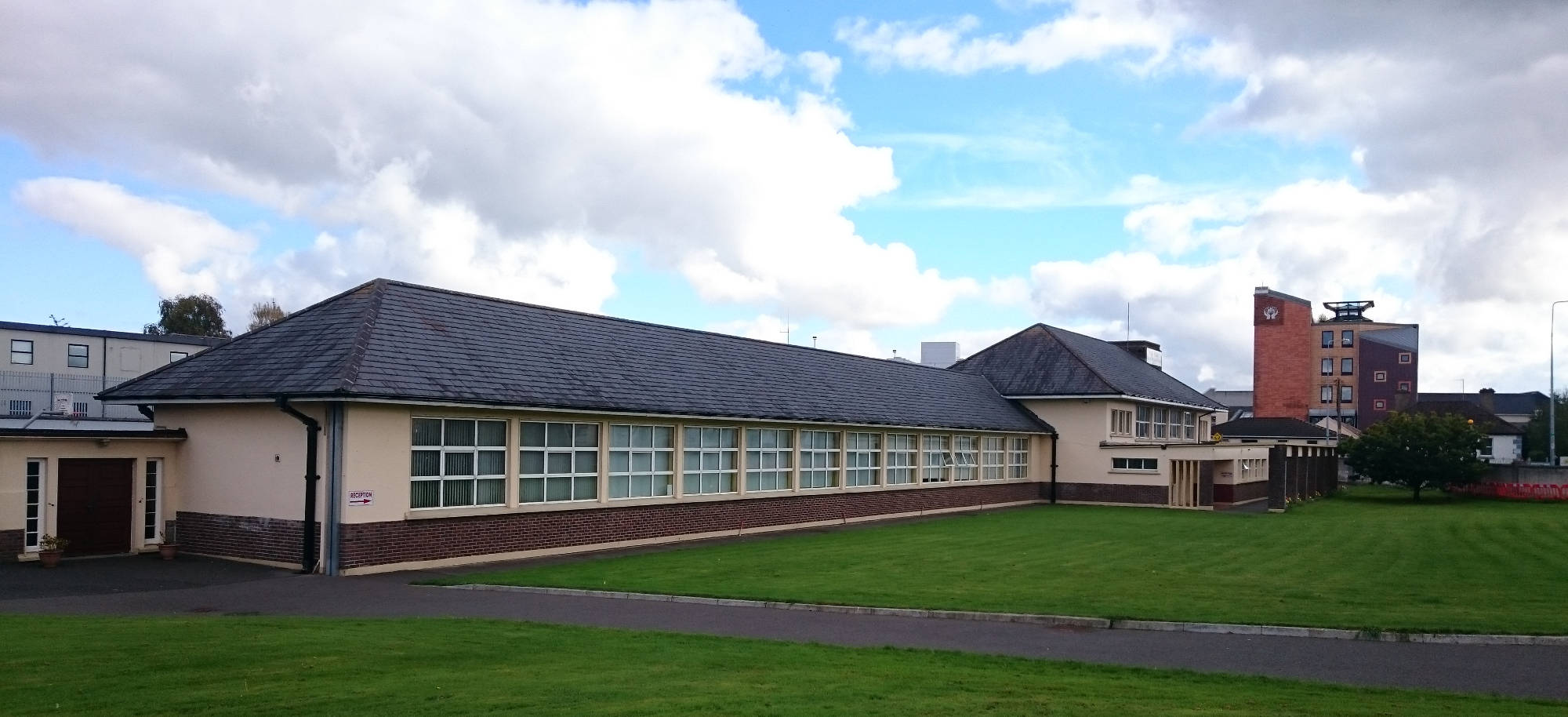 The Senior School building at Scoil Mhuire Primary School, Navan, Co. Meath.